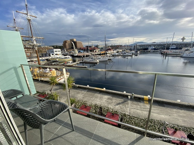 Somerset On The Pier Hobart: Living On The Water!