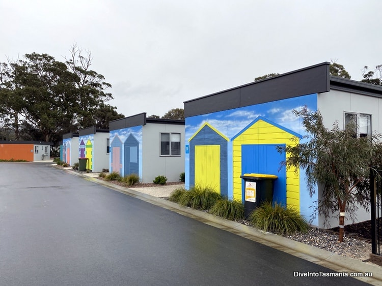 NRMA St Helens Waterfront Holiday Park park cabins