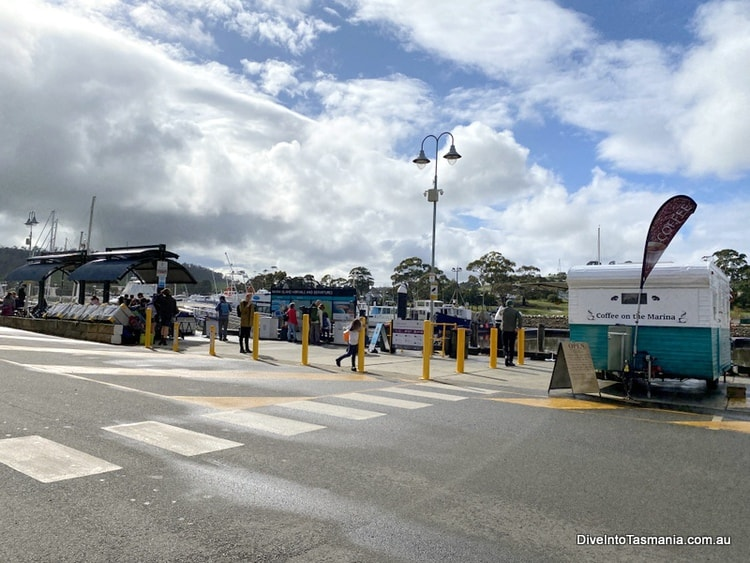 Maria Island ferry prices - The departure point in Triabunna
