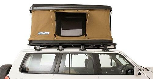 Adventure Kings Kwiky Hard Shell Pop Up Roof Top Tent