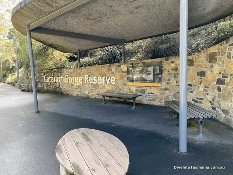 Cataract Gorge Reserve entry