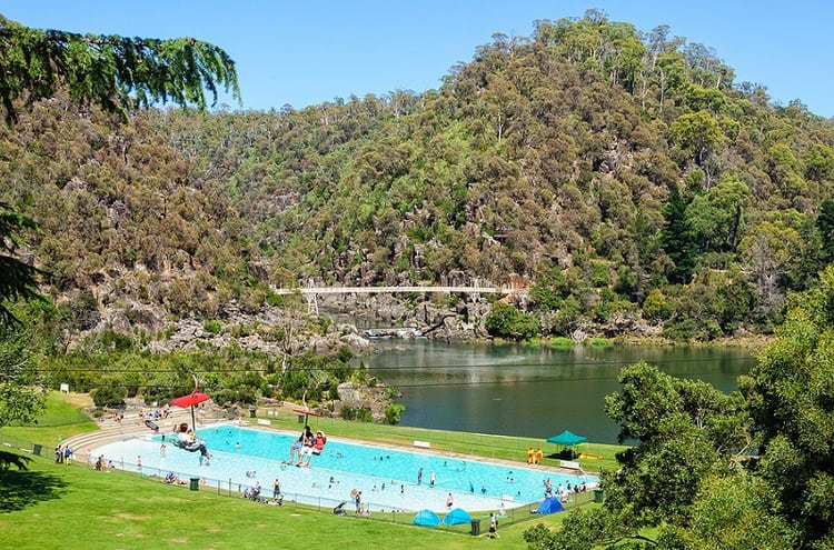 First Basin in Cataract Gorge