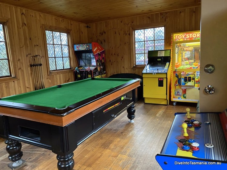 Village Family Motor Inn Launceston games room