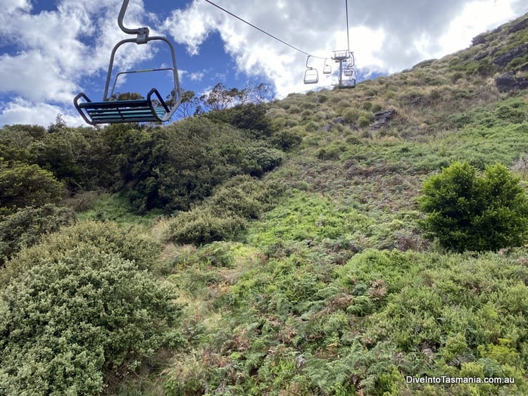 The Nut Stanley chairlift