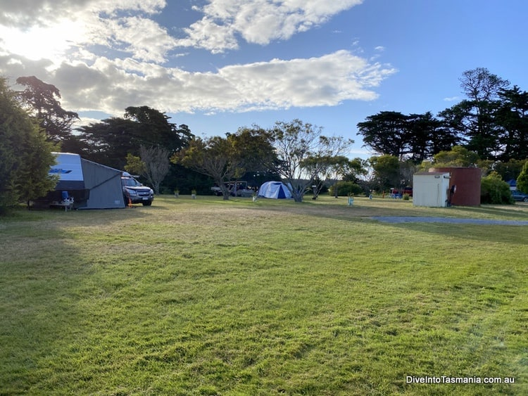 Big4 Kelso Sands Holiday Park camping area