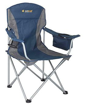 Oztrail Sovereign Cooler Arm Camping Chair