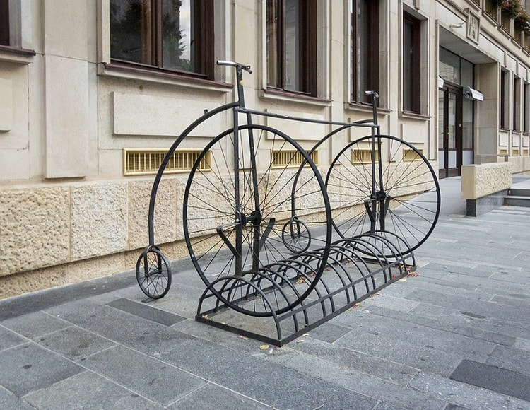 Penny Farthing bicycle Evandale