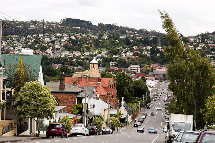 Street in Launceston City